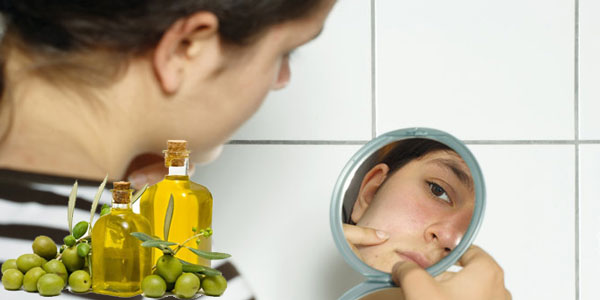 minyak zaitun untuk wajah berjerawat